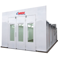 1000 Series - Semi Down Draft Spray Booth