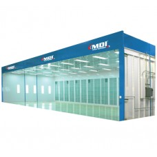 Industrial Open Face Filter Booth